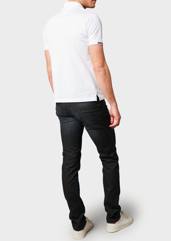 Jean skinny en coton hyperflex gris brut - Father and Sons 6509