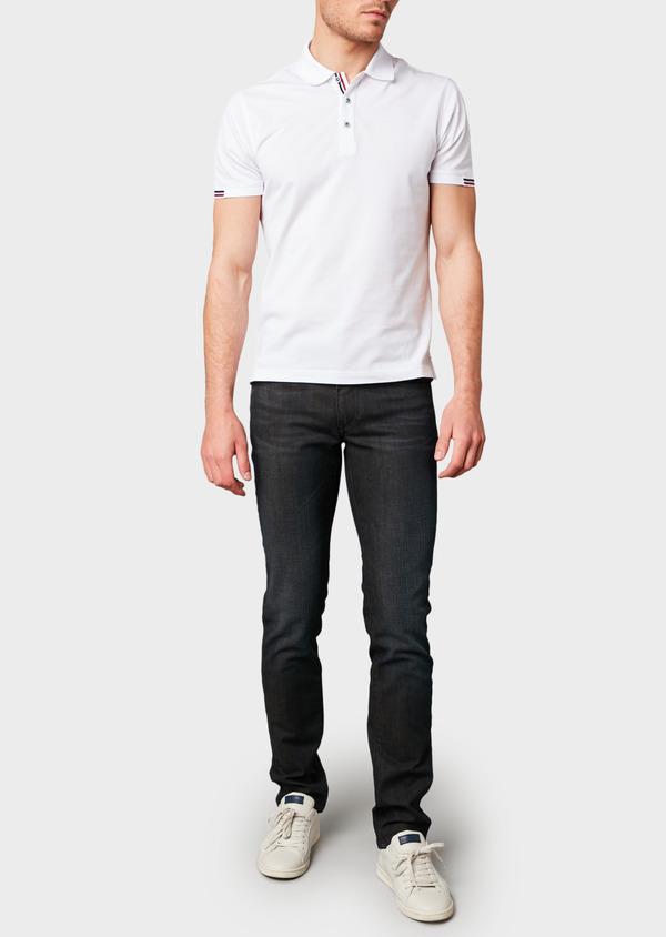 Jean skinny en coton hyperflex gris brut - Father and Sons 6508