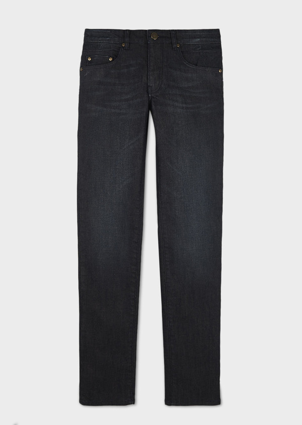 Jean skinny en coton hyperflex gris brut - Father and Sons 6506