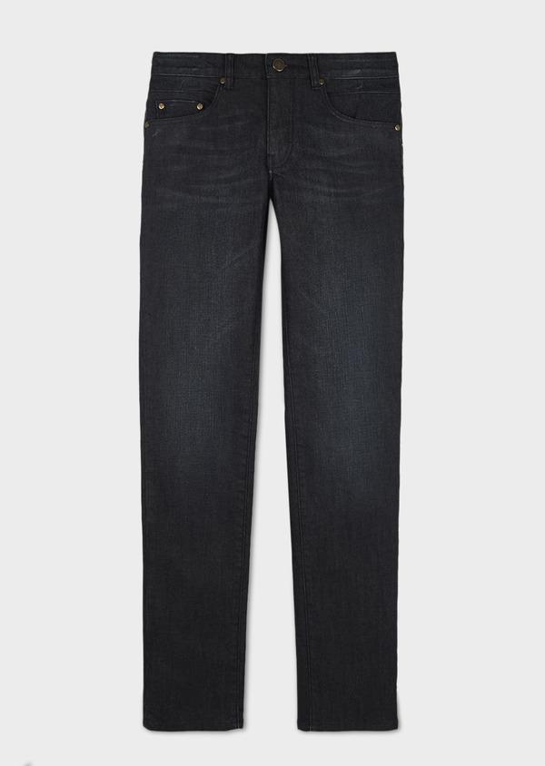 Jean skinny en coton hyperflex gris brut - Father and Sons 6506
