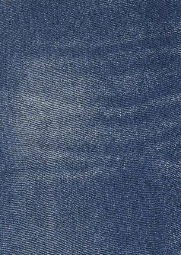 Jean skinny en coton hyperflex bleu gris délavé - Father and Sons 6495