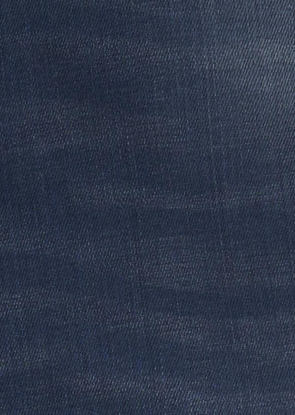 Jean skinny en coton hyperflex bleu indigo délavé - Father and Sons 6489