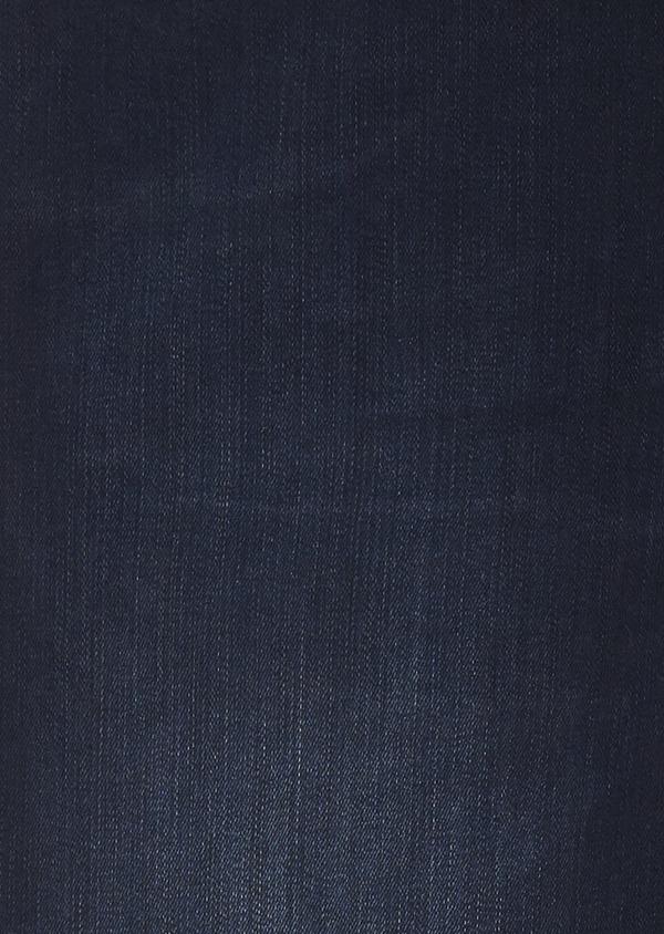 Jean skinny en coton hyperflex bleu marine brut - Father and Sons 6477