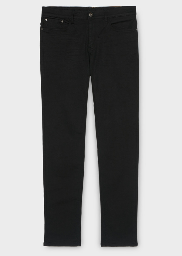 Jean skinny en coton stretch noir brut - Father and Sons 9106