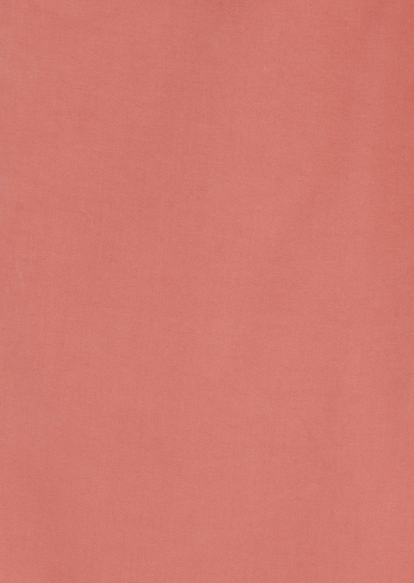 Chino slack skinny en coton stretch uni corail - Father and Sons 6593