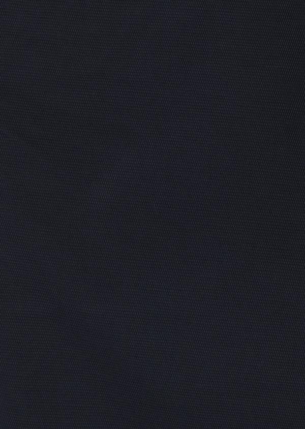 Chino slack super skinny en coton stretch texturé bleu marine - Father and Sons 6599
