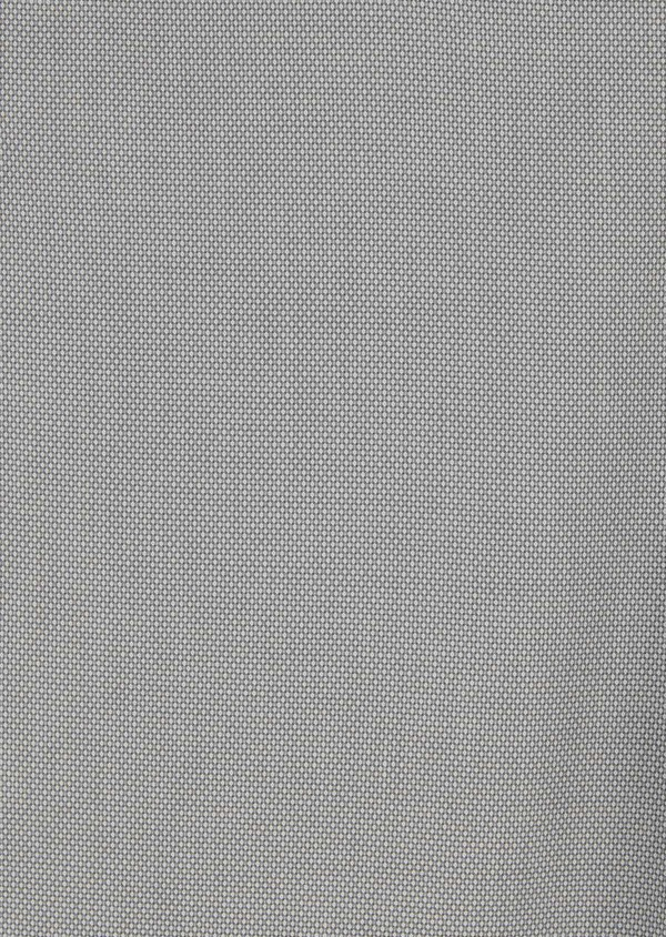 Chino slack skinny en coton stretch gris clair à motif - Father and Sons 8152