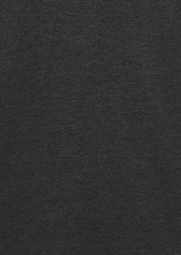 Polo manches courtes Slim en coton uni noir - Father and Sons 7550