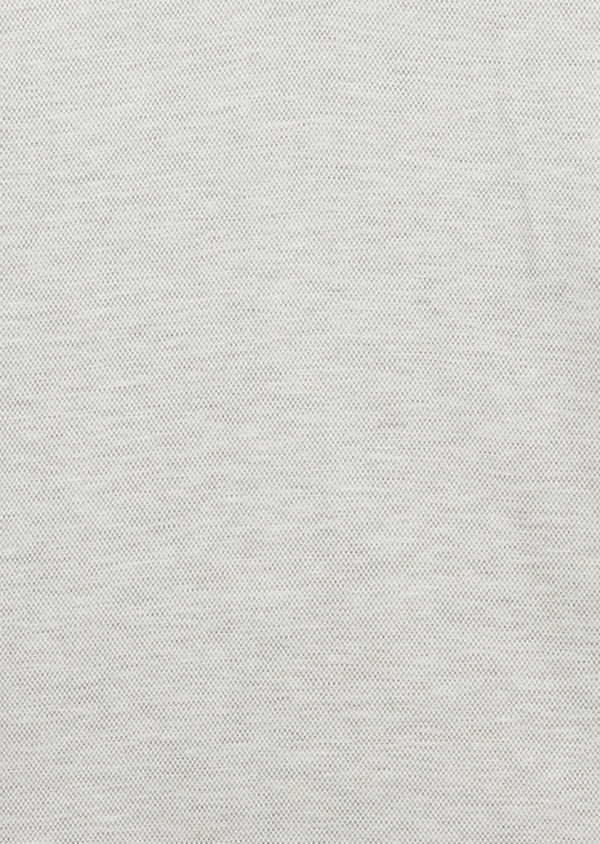 Polo manches courtes Slim en coton uni beige clair - Father and Sons 7726