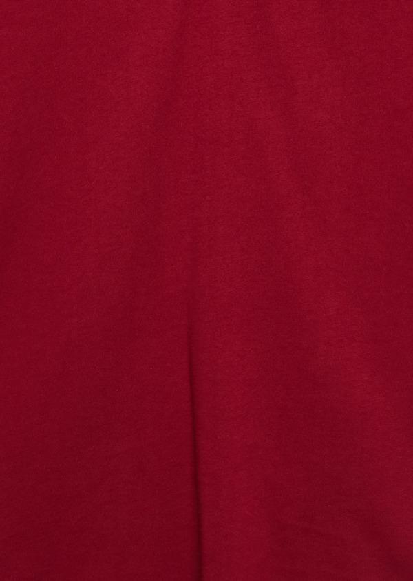 Polo manches courtes Slim en coton uni bordeaux - Father and Sons 7622