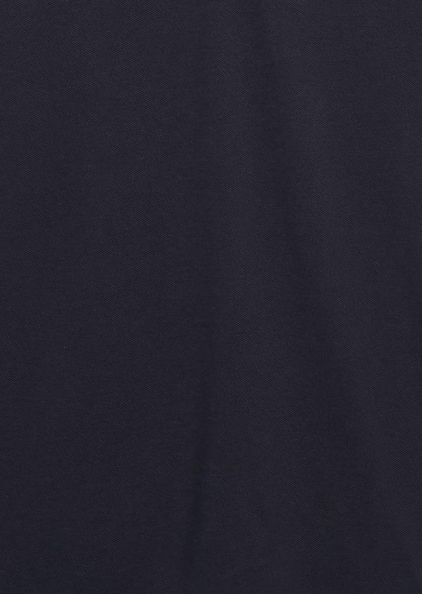 Polo manches courtes Slim en coton uni bleu marine - Father and Sons 7678