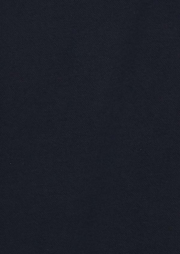 Polo manches courtes Slim en coton mercerisé bleu marine - Father and Sons 8188