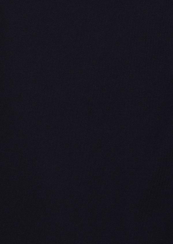 Cardigan en coton uni bleu marine - Father and Sons 8212