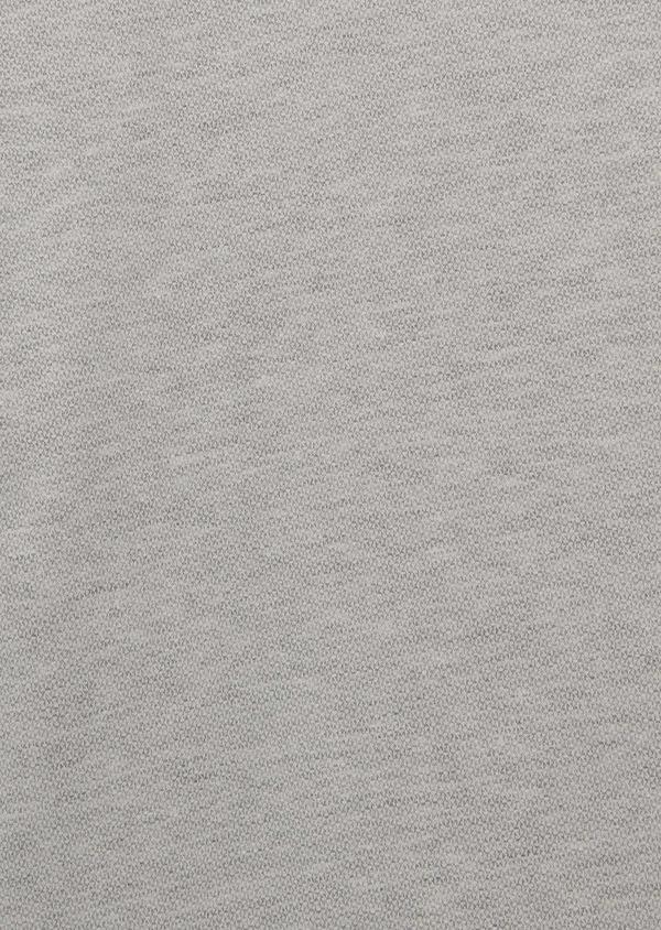 Tee-shirt manches courtes en coton gris clair à motifs - Father and Sons 7103