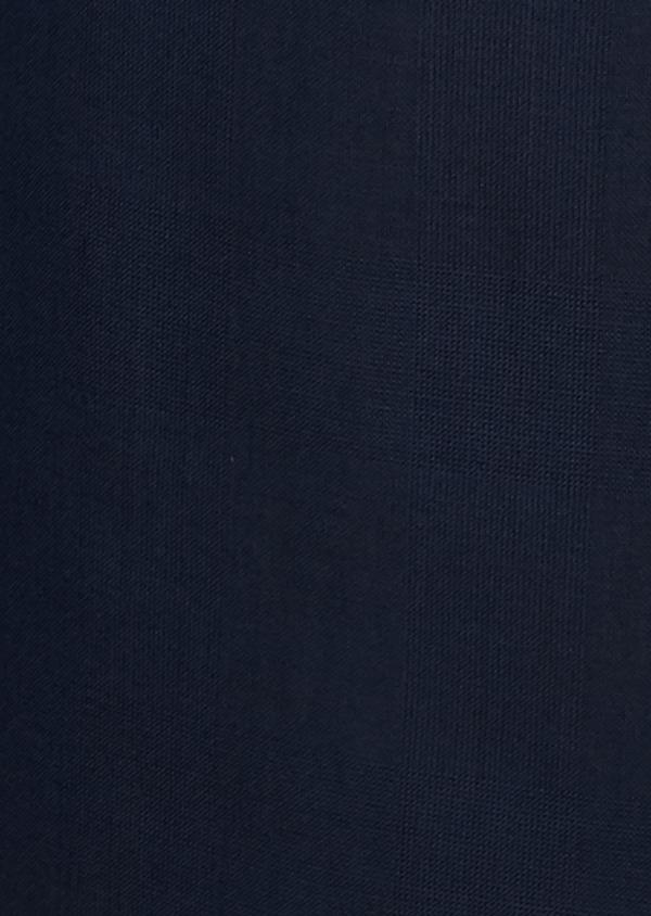 Veste de costume Regular en laine Vitale Barberis Canonico bleu marine Prince de Galles - Father and Sons 9074