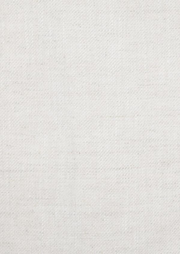 Veste coordonnable Regular en lin beige - Father and Sons 8228