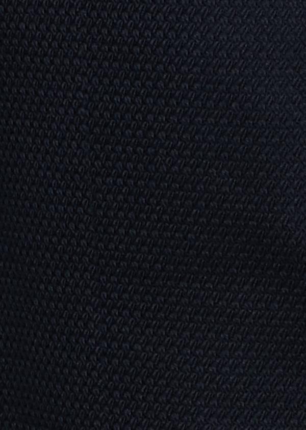 Veste casual Regular en coton façonné bleu marine - Father and Sons 7239