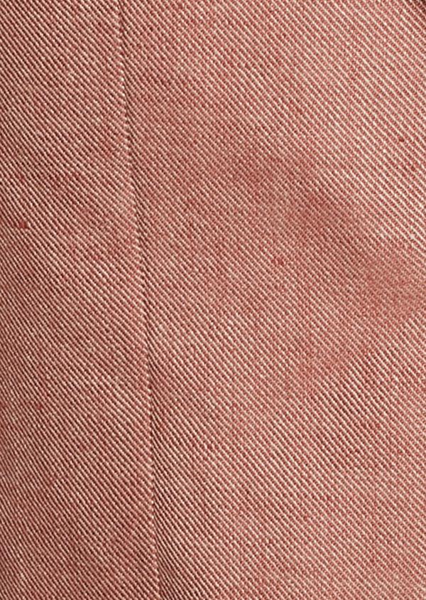 Veste casual Slim en coton façonné orange - Father and Sons 7259