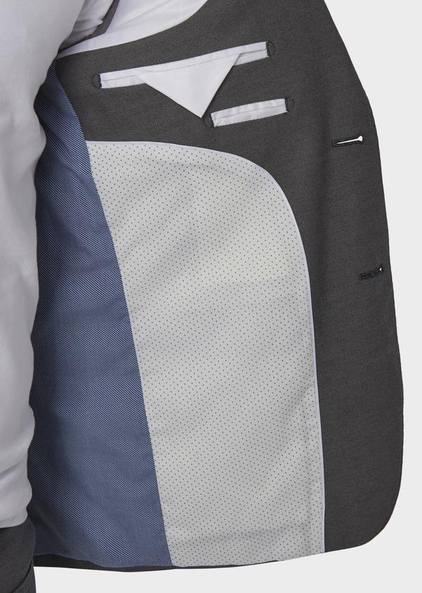 Veste coordonnable Slim en coton gris - Father and Sons 8262