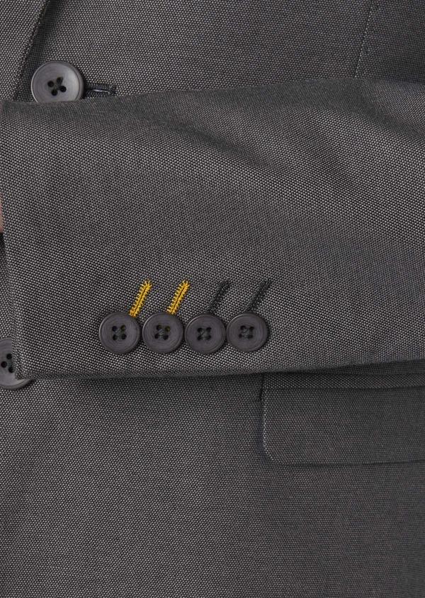Veste coordonnable Slim en coton gris - Father and Sons 8261