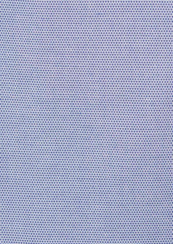 Veste casual Slim en coton façonné uni bleu - Father and Sons 8267