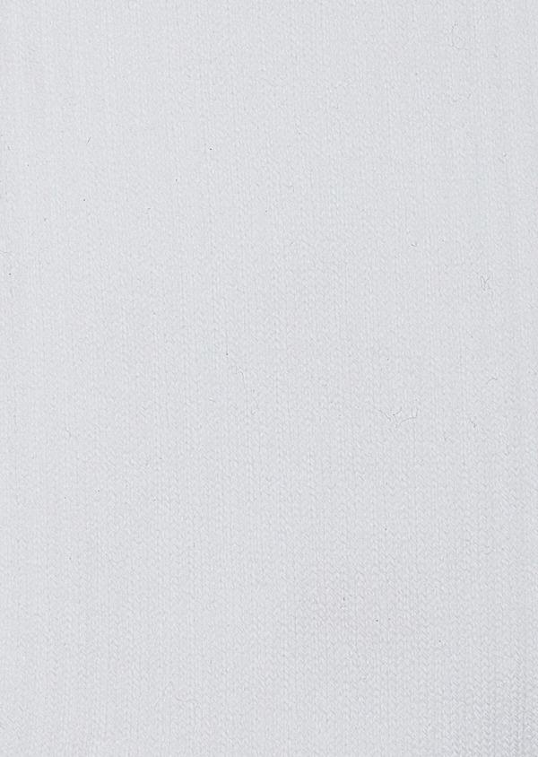 Chaussettes en coton mélangé blanc à rayures vertes et grises - Father and Sons 42547