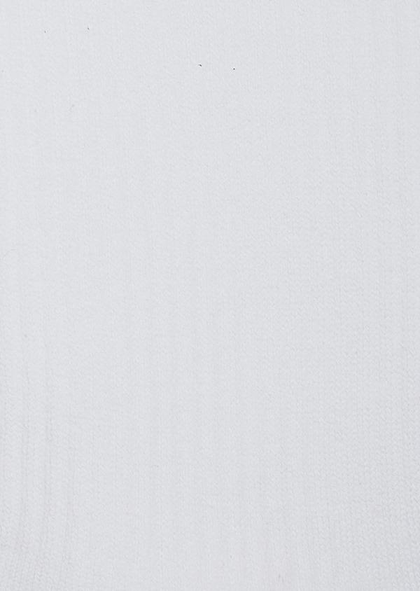 Chaussettes en coton mélangé blanc à rayures marron - Father and Sons 42549