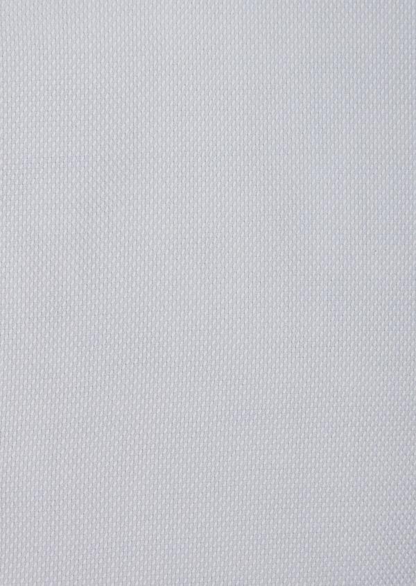 Chemise habillée Slim en coton Jacquard uni bleu pâle - Father and Sons 42594