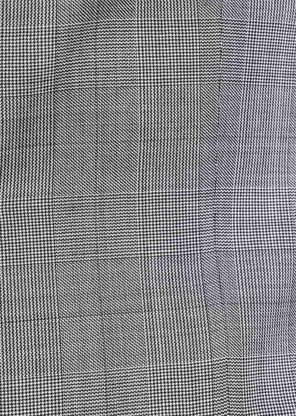 Costume 2 pièces Slim en laine grise Prince de Galles - Father and Sons 38124