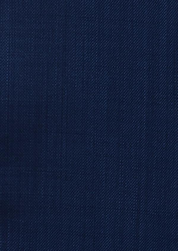Costume 2 pièces Slim en laine unie bleu indigo - Father and Sons 37137