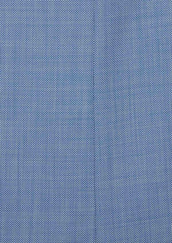 Costume 2 pièces Regular en laine mélangée unie bleue - Father and Sons 40573