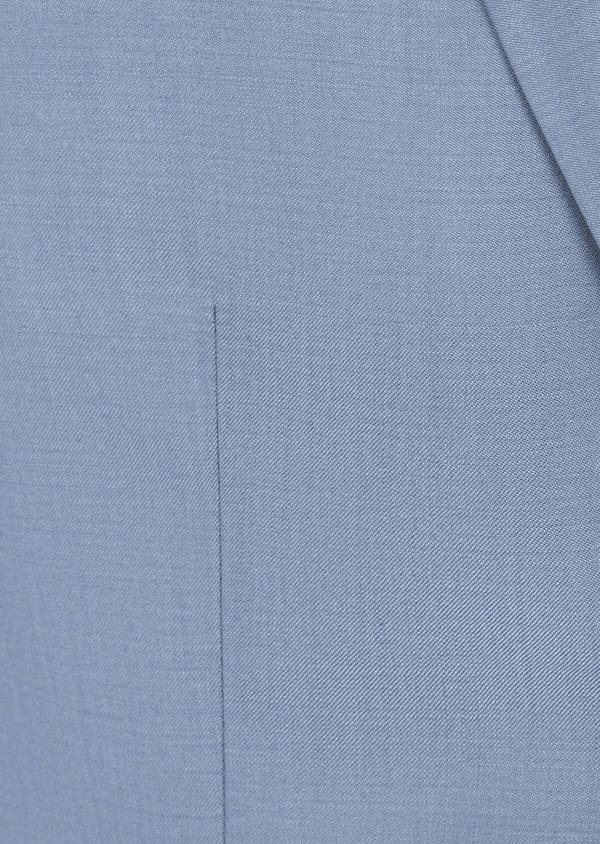 Costume 2 pièces Slim en laine unie bleu pâle - Father and Sons 41969