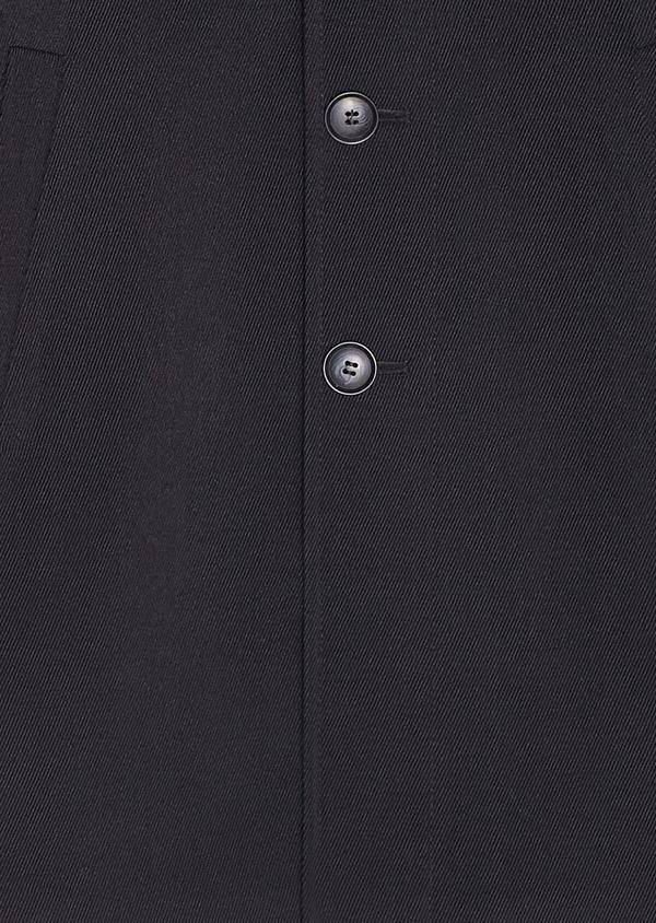 Manteau uni noir - Father and Sons 30719