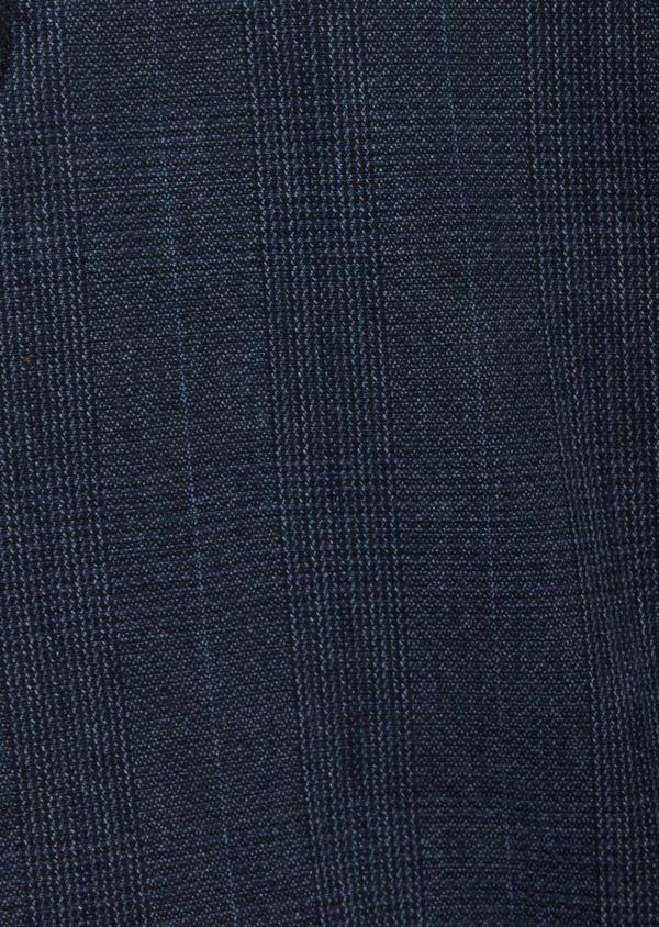 Bermuda en coton stretch bleu Prince de Galles - Father and Sons 39807