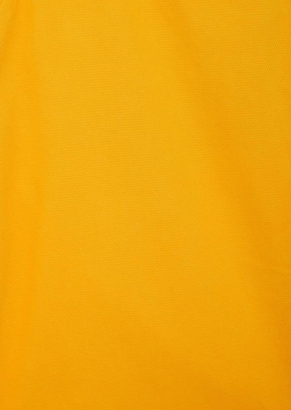 Bermuda en coton stretch uni jaune - Father and Sons 40037