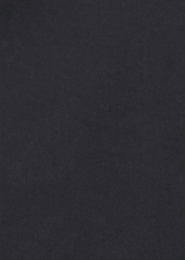 Bermuda en coton stretch uni gris anthracite - Father and Sons 40650