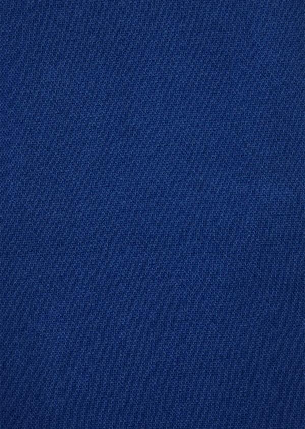 Bermuda slack en coton et lin bleu - Father and Sons 40168