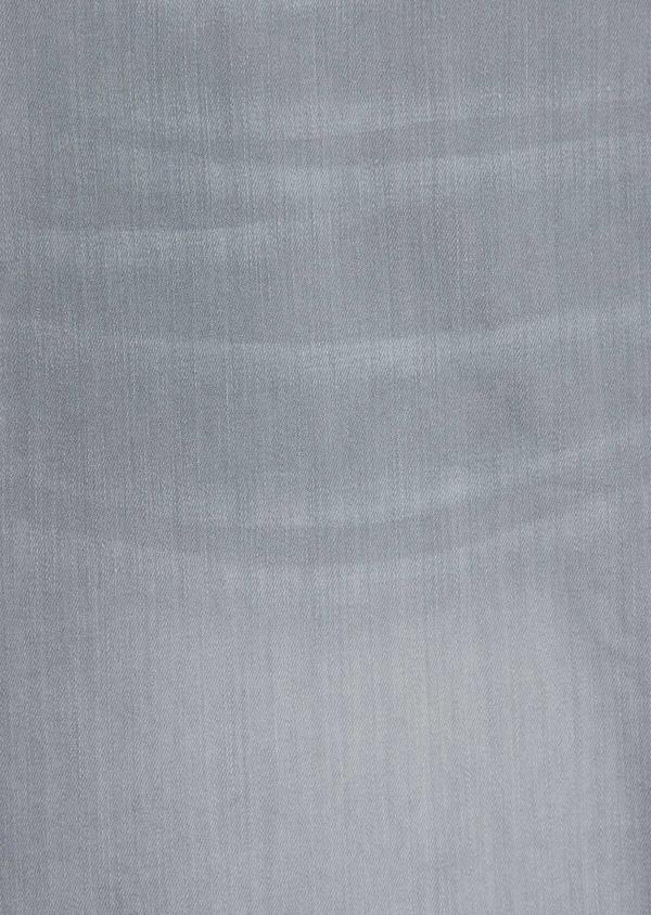 Bermuda jean en coton stretch uni gris - Father and Sons 38499