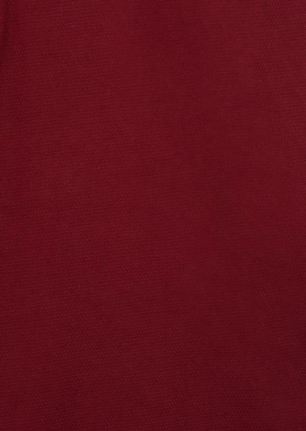 Bermuda en coton stretch uni bordeaux - Father and Sons 39351