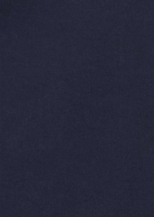 Bermuda en coton stretch uni bleu marine - Father and Sons 34559