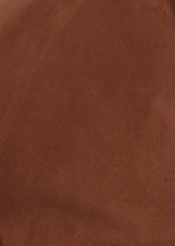 Veste saharienne en cuir uni caramel - Father and Sons 38515