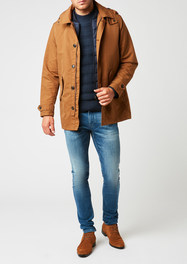 Parka unie camel 2 en 1 - Father and Sons 25612