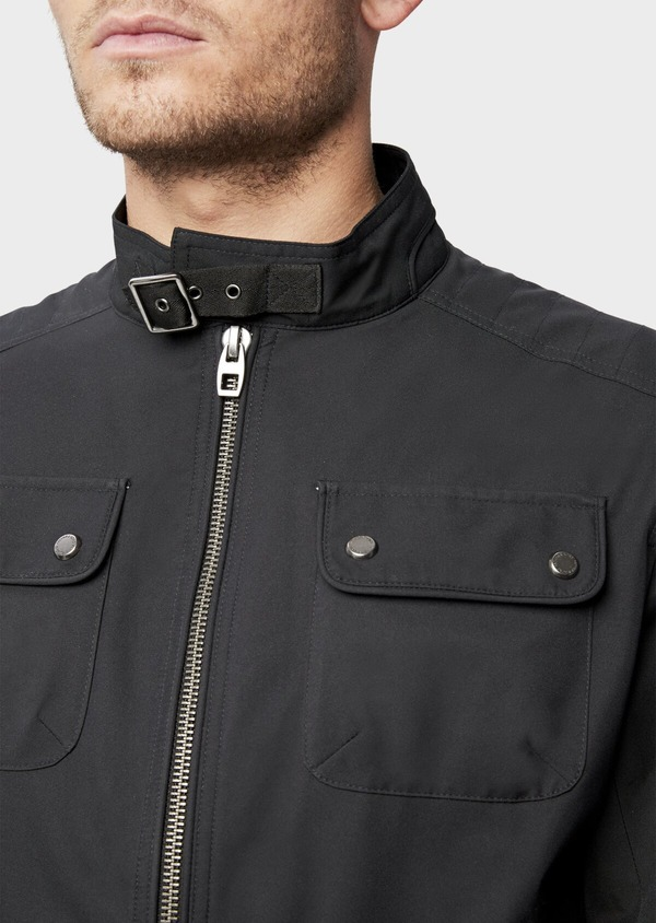 Blouson uni gris anthracite - Father and Sons 38550