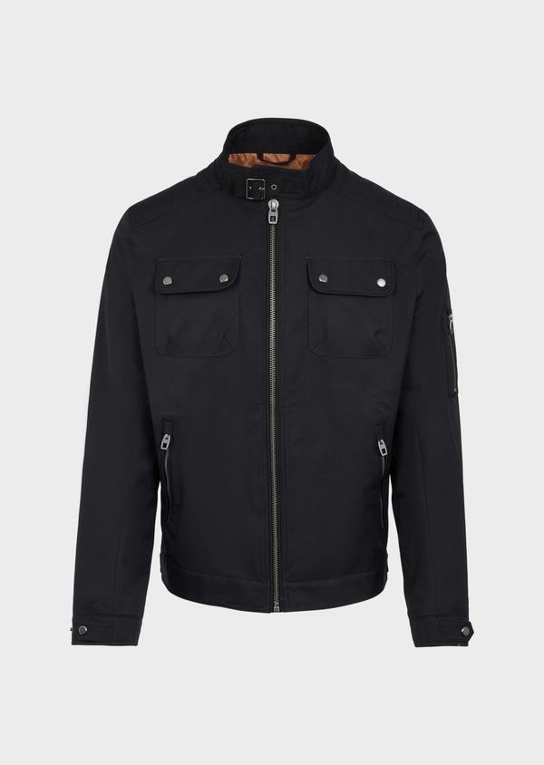 Blouson uni gris anthracite - Father and Sons 38546
