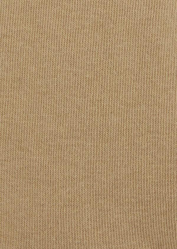 Chaussettes en coton mélangé uni marron - Father and Sons 37678