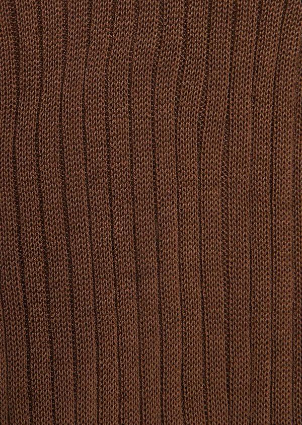 Chaussettes en coton mélangé beige - Father and Sons 27223