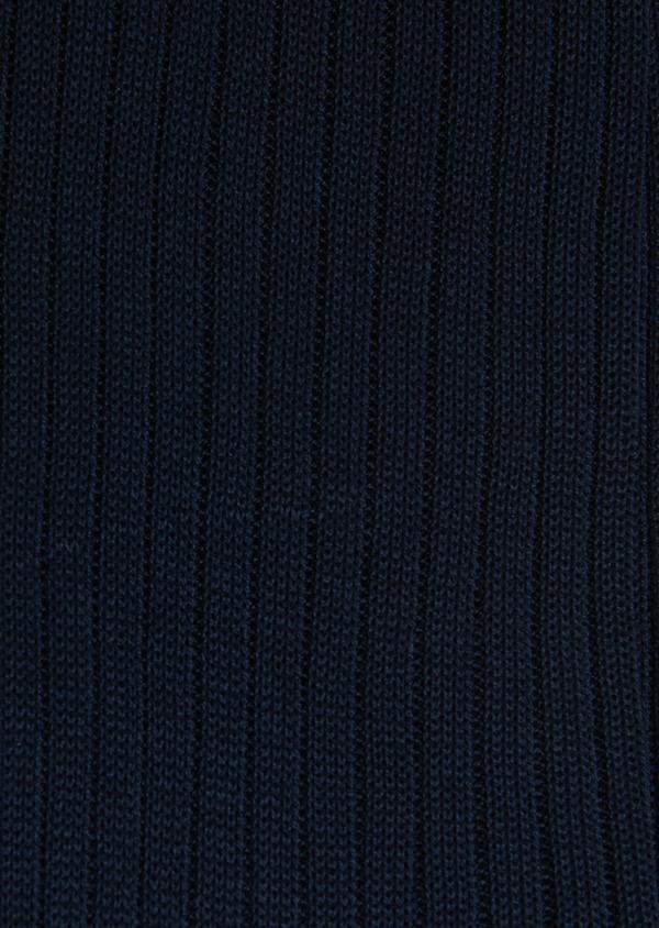 Chaussettes en coton fil d'Ecosse uni marine - Father and Sons 18134
