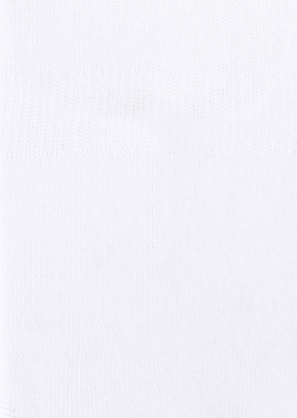 Chaussettes invisibles en coton uni blanc - Father and Sons 28648
