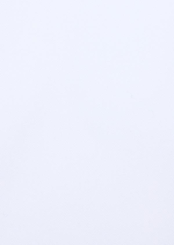 Chemise manches courtes Regular en satin de coton uni blanc - Father and Sons 34102