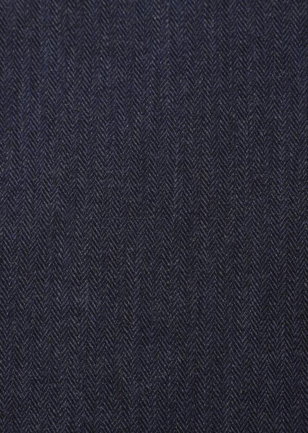 Chemise sport Regular en coton uni bleu indigo - Father and Sons 35952